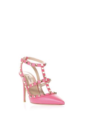 PINK ROCKSTUD LEATHER PUMPS SS 2018 VALENTINO GARAVANI | 68 | PW2S0393VCE0HO