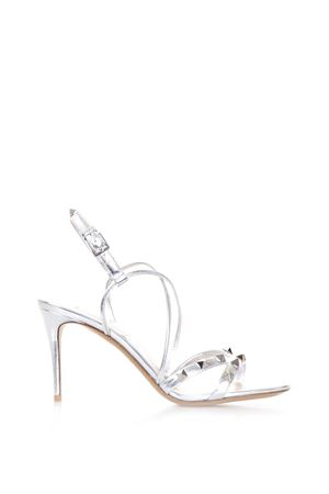 FREE ROCKSTUD METALLIC LEATHER SANDALS SS 2018 VALENTINO GARAVANI | 87 | PW2S0G01HJSS13