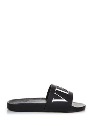 WHITE RUBBER SANDALS WITH LOGO SS 2018 VALENTINO GARAVANI | 87 | PY0S0873SYE0NI