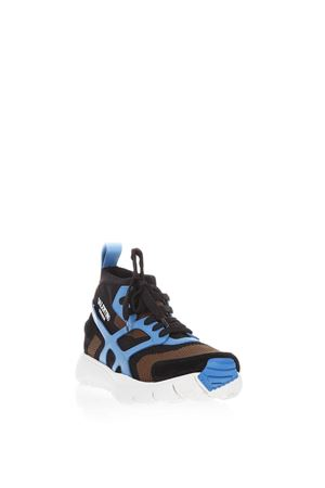 SOUND HIGH SNEAKERS IN NYLON & LEATHER SS 2018 VALENTINO GARAVANI | 55 | PY2S0A57GHB19C