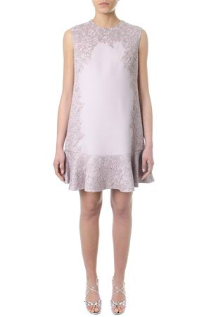 LILAC DRESS WITH LUREX LACE INSERTS SS 2018 VALENTINO | 32 | PB0VAHY041P6E0