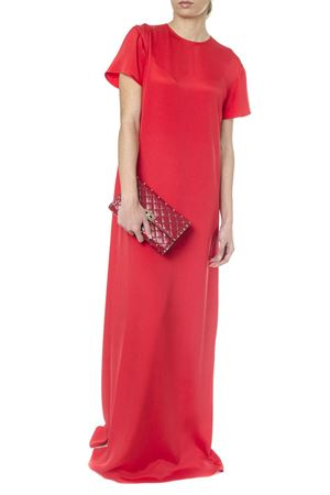 RED SILK GOWN SS18 VALENTINO | 32 | PB3VD7053NYPA2