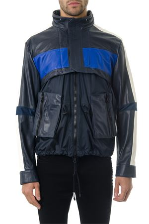 BLU CASUAL LEATHER JACKET SS 2018 VALENTINO   27   PV0NA86P506T59