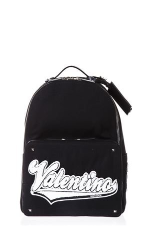 VALENTINO BLACK CANVAS BACKPACK SS 2018 VALENTINO | 183 | PY2B0340GVRA01