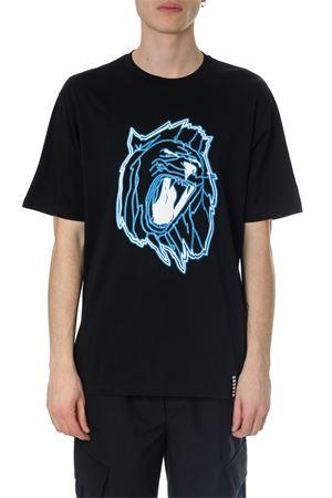 BLACK  COTTON JERSEY T-SHIRT VERSUS | 15 | BU90546BJ10289B7008