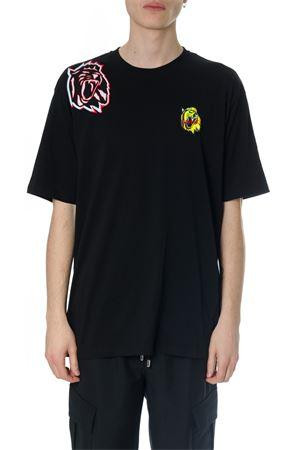 Black Rebbel Lion T-shirt in cotton SS2018 VERSUS | 15 | BU90559BJ10289B1008