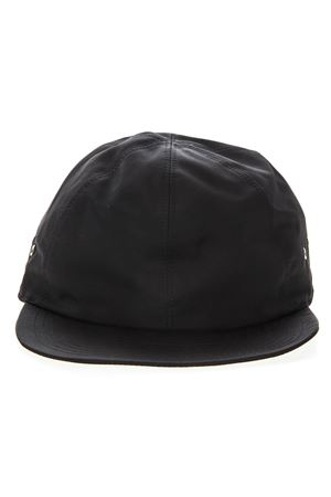BLACK TECHNICAL FABRIC HAT WITH METAL RED BUCKLE SS 2019 1017 ALYX 9SM | 17 | AAMHA0001A1051105
