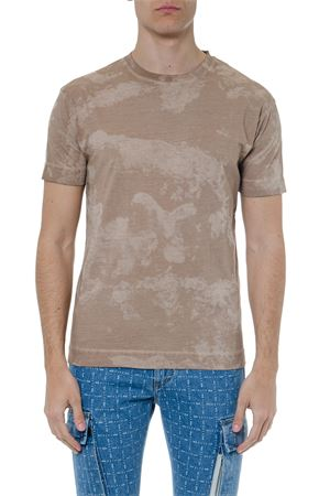 BEIGE COTTON CAMOUFLAGE T SHIRT SS 2019 1017 ALYX 9SM | 15 | AAMTS0030A1001100