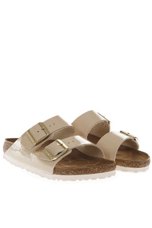 SANDALI ARIZONA COLOR SABBIA IN BIRKO FLOR PE 2019 BIRKENSTOCK | 87 | 1013070ARIZONASAND