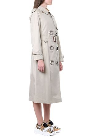 BEIGE COTTON GABARDINE TRENCH WITH METAL RINGS SS 2019 BURBERRY | 31 | 80061511A41450