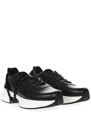 HERITAGE N9000 TXS BLACK LEATHER SHOE SS19 DIADORA HERITAGE | 55 | 201.174819N9000 TX S H LEATHER NERO