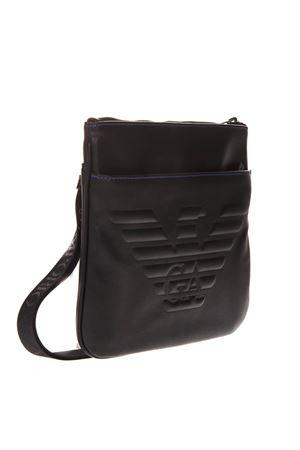 BLACK LOGO & EAGLE SHOULDER BAG SS19 EMPORIO ARMANI | 2 | Y4M177YG90J81072