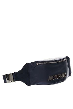 NAVY LEATHER BELT BAG SS 2019 JACQUEMUS | 2 | 195BA02-19570390NAVY