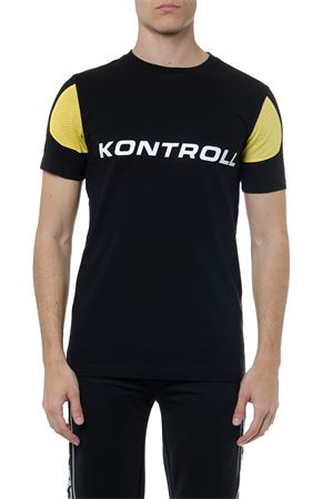 KONTROLL BLACK & YELLOW T-SHIRT SS 2019 KAPPA KONTROLL   15   304LFZ0109234926