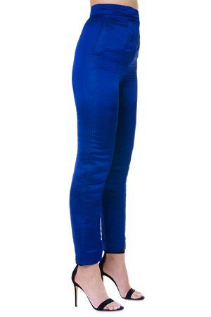 SAPPHIRE HEMP WIDE LEGS PANTS SS19 LANVIN | 8 | RW-TR533U-41271271