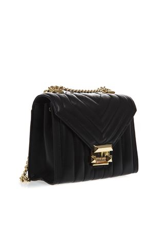 BLACK WHITNEY QUILTED LEATHER BAG SS19 MICHAEL MICHAEL KORS | 2 | 30F8GXIL1TUNI001