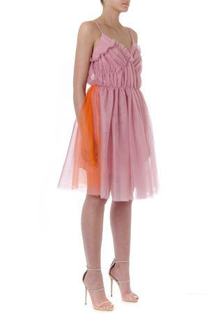 SHORT PINK TULLE DRESS SS19 MSGM | 32 | 2642MDA112Y19530012