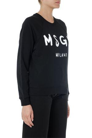 BLACK MSGM MILANO COTTON SWEATSHIRT SS19 MSGM | 19 | 2642MDM18919529999
