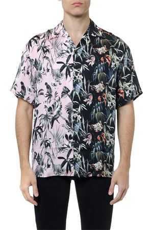 FABRIC SHIRT WITH FLORAL PRINTS SS 2019 REPRESENT | 9 | 1060011SPLIT