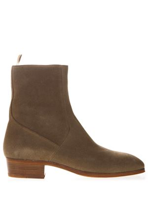 SAND ANKLE BOOTS IN SUEDE WITH ZIP SS 2019 REPRESENT | 52 | 1110011TAUPE