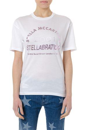 STELLABRATION WHITE COTTON T-SHIRT SS 2019 STELLA McCARTNEY | 15 | 523503SMW649000