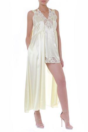 PALE YELLOW SATIN DRESS SS 2019  STELLA McCARTNEY | 21 | 562735SMA657301