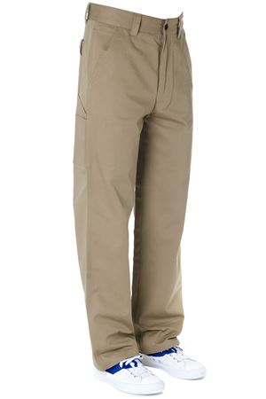 BEIGE COTTON TWILL CARGO PANTS SS 2019 TOMMY HILFIGER | 8 | RE0RE002011284
