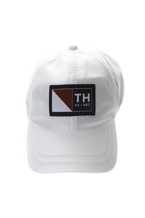 WHITE COTTON BASEBALL CAP WITH LOGO PATCH SS 2019 TOMMY HILFIGER | 17 | RE0RE003121901