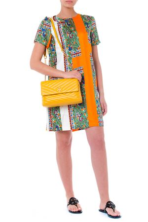 MULTICOLOR FANTASY PRINT TEXTILE DRESS SS19 TORY BURCH | 32 | 53914PRINTED820