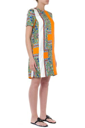 8f6d4276cde MULTICOLOR FANTASY PRINT TEXTILE DRESS SS19 - TORY BURCH - Boutique ...
