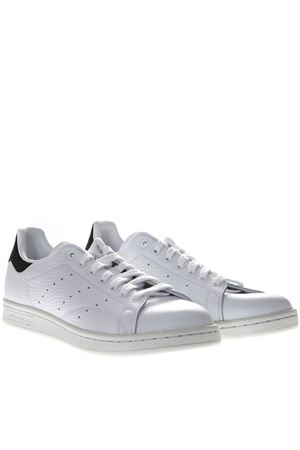 21f04e932f51 Add to cart. STAN SMITH WHITE LEATHER AND BLACK SUEDE SNEAKERS ADIDAS  ORIGINALS