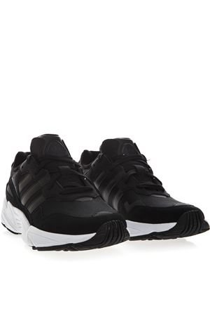 74503a718 ... YUNG BLACK NYLON   SYNTHETIC SUEDE SNEAKER SS19 ADIDAS ORIGINALS