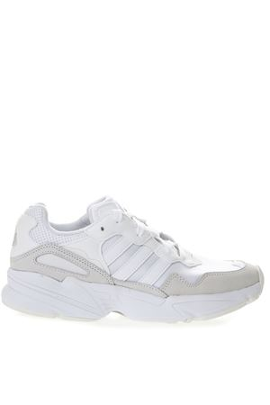 YUNG WHITE LEATHER & NYLON SNEAKERS SS 2019 ADIDAS ORIGINALS | 55 | EE3682YUNG-96FTWR WHITE