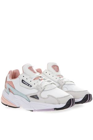 SNEAKERS FALCON IN MESH E SUEDE BIANCO E ROSA PE 2019 ADIDAS ORIGINALS | 55 | EE4149FALCON W1