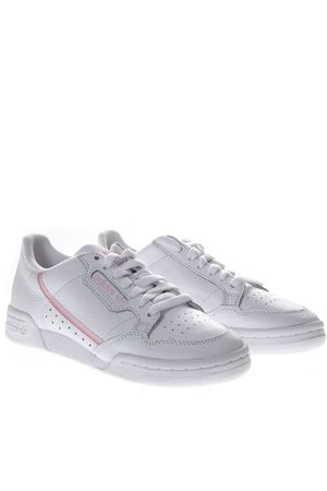 SNEAKERS CONTINENTAL IN PELLE BIANCA PE 2019 ADIDAS ORIGINALS | 55 | G27722CONTINANTAL 80WFTWR WHITE