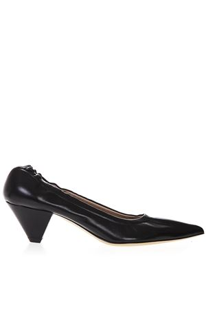 POINTED TOE BLACK LEATHER PUMPS SS 2019 ALDO CASTAGNA | 68 | ELISE 103/50NAPPA NERO