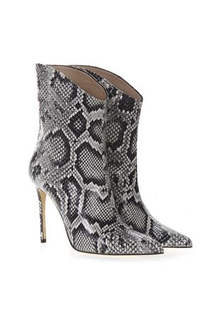 ANKLE BOOT IN PYTHONED GREY LEATHER SS 2019 ALDO CASTAGNA | 52 | ELISE 142PITONEROCCIA