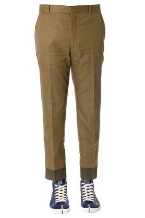 CARAMEL COTTON PANTS SS19 ALEXANDER McQUEEN | 8 | 541251QMS110906
