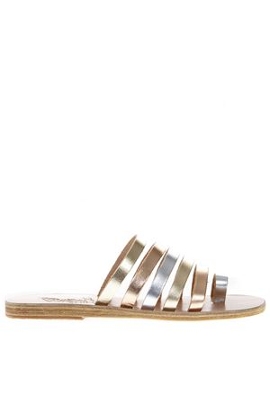 NIKI MULTICOLOR METALLIC LEATHER SANDALS SS 2019 ANCIENT GREEK | 87 | NIKI1PINK
