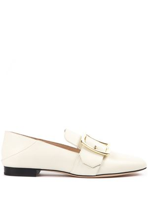 JANELLE BONE COLOR LOAFERS IN LEATHER SS 2019 BALLY | 130 | 6225876JANELLE 03015