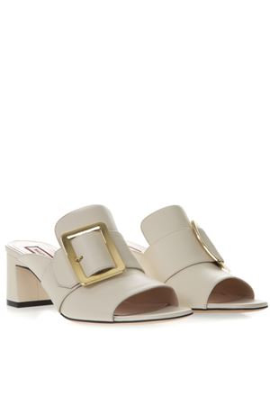 JANAYA BONE COLOR LEATHER SANDALS SS 2019 BALLY | 87 | 6226207JANAYA 5503015