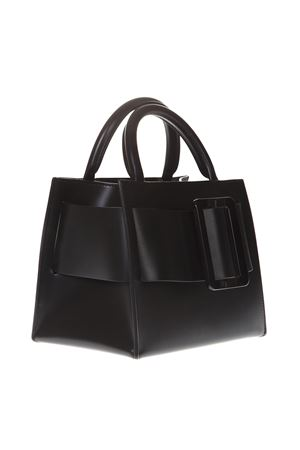 BOBBY BLACK LEATHER TOTE BAG SS 2019 BOYY | 2 | BOBBY1BLACK