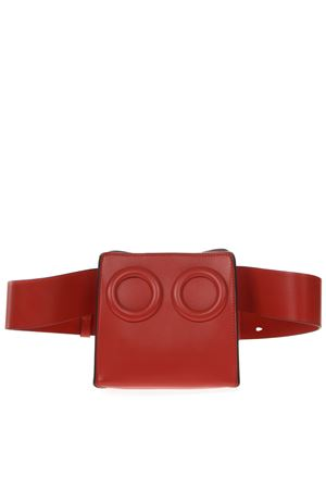 DEON RED LEATHER BELTBAG SS 2019 BOYY | 2 | DEON BELTGOLDAURANGE