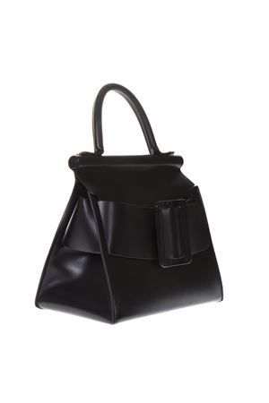 KARL LARGE BLACK LEATHER BAG SS 2019 BOYY | 2 | KARL1BLACK