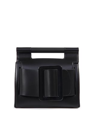 ROMEO BLACK COLOR LEATHER HAND BAG SS 2019 BOYY | 2 | ROMEO1BLACK