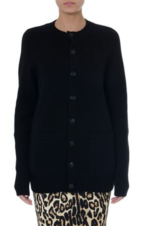 CARDIGAN NERO IN CASHMERE PE 2019 BURBERRY | 16 | 4549388102