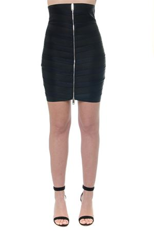 BLACK SATIN ZIPPED SKIRT SS19 BURBERRY | 26 | 4559887100100