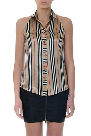 MULTICOLOR STRIPPED SILK TOP SHIRT SS19 BURBERRY | 9 | 45609221A7026