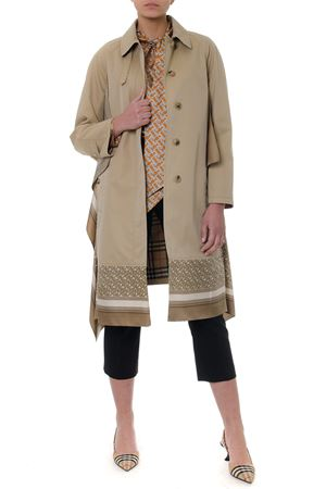 HONEY COTTON SILK INSERTS COAT SS19 BURBERRY | 27 | 4560954127340