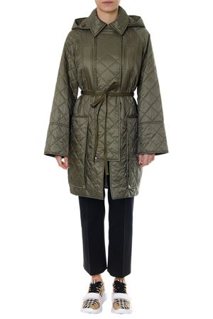 QUILTED NYLON DOWN JACKET IN GREEN COLOR SS 2019 BURBERRY | 31 | 80067701A3228